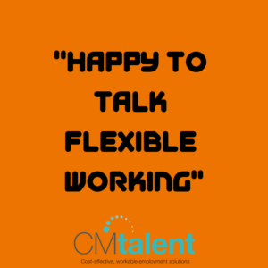Flexible working recruitment