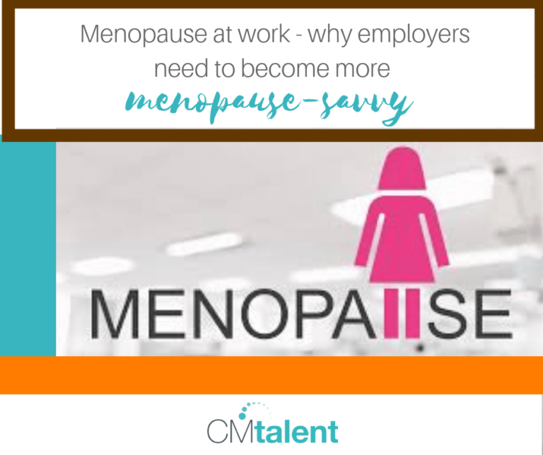 employers to become more menopause-savvy