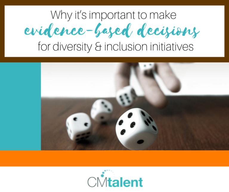 Evidence-based decision making for D&I