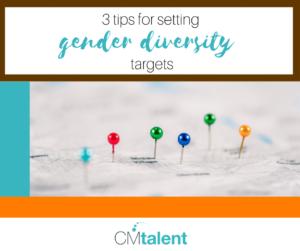 gender balance targets