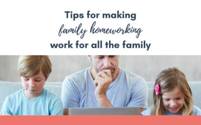 Tips for making Family Home Working work for all the family