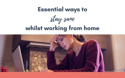 Essential ways to stay sane whilst working from home